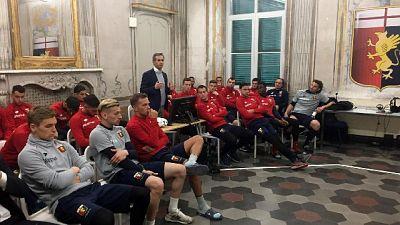 Progetto match fixing incontra il Genoa