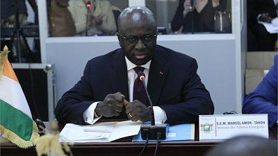 """Amon-Tanoh rassure que l'élection présidentielle de 2020 en Côte d'Ivoire """"se passera bien"""""""