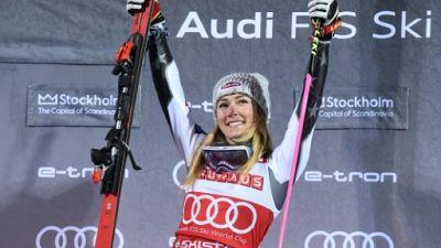 Ski: l'Américaine Shiffrin remporte son 6e Globe de cristal en slalom