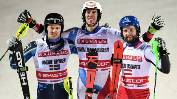 Ski: le Suisse Zenhaeusern remporte de nouveau le City Event de Stockholm