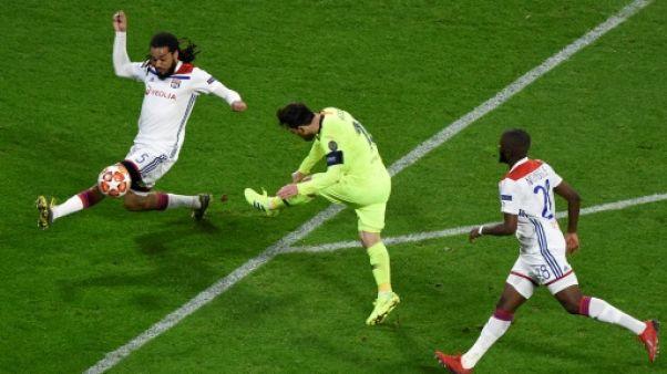 Ligue des champions : 0-0 à la pause entre Lyon et Barcelone