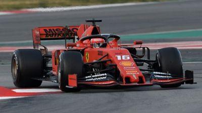 F1: première pour Leclerc au niveau de Vettel !