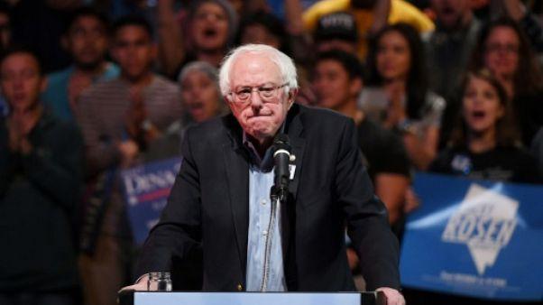 Bernie Sanders à Las Vegas le 25 octobre 2018