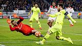 Lyon shares fall after club's goalless draw against Barcelona