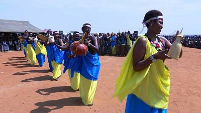 Cultural festival brings displaced families and UN staff together to celebrate peace in protection site