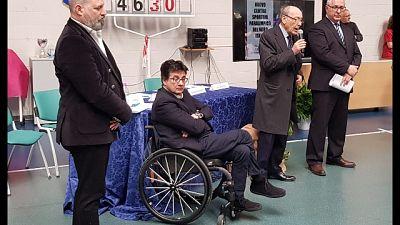 In ospedale di Verdi centro paralimpico