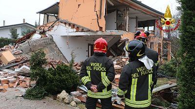 Esplode casa isolata a Padova