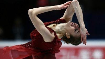 Mondiaux de patinage artistique: Carolina Kostner, blessée, déclare forfait