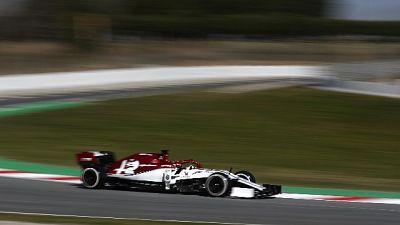 Al Montmelò svetta l'Alfa di Raikkonen