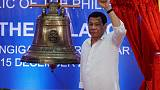 Philippines' Duterte warns of harsher drugs war ahead