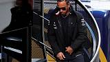 Hamilton shrugs off Ferrari's early testing pace