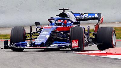 F1: test Montmelò, Kvyat miglior tempo