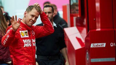 """Vettel """"giornate intese, siamo contenti"""""""