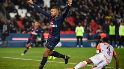 Ligue 1: Mbappé et Di Maria, encore eux, portent le PSG