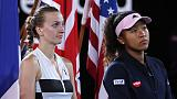 Shy Osaka must learn to deal with limelight, says Kvitova