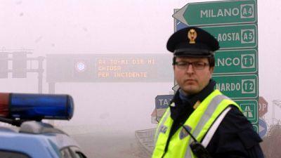 Maxitamponamento per nebbia, chiusa A1