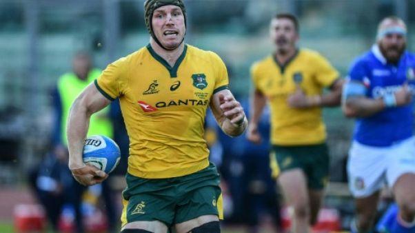 Rugby: l'Australien Pocock ménagé après une nouvelle commotion cérébrale