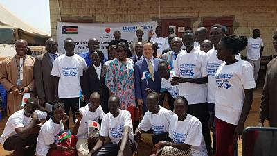 UN Habitat opens a 'One Stop Youth Centre' in Wau, South Sudan