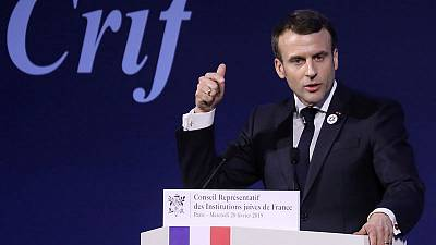 France's Macron says anti-Zionism is a form of anti-Semitism