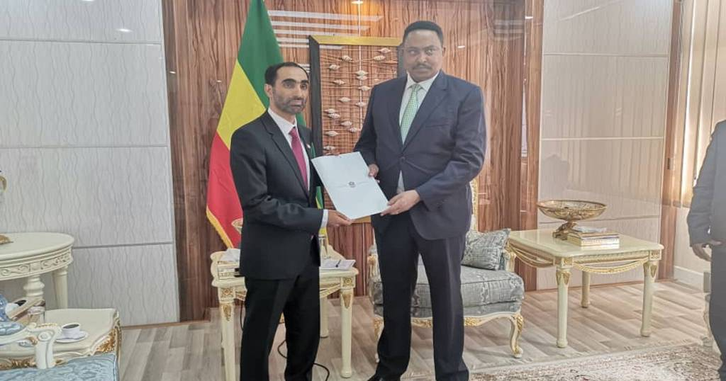 UAE Ambassador presents credentials to Ethiopian Foreign Minister