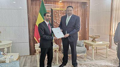UAE Ambassador presents credentials to Ethiopian Foreign Minister