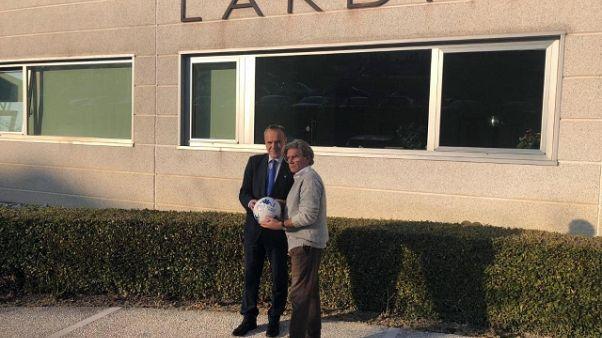 Lega B: Balata visita azienda Lardini