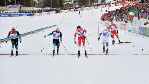 Mondiaux de ski de fond: Richard Jouve au pied du podium en sprint libre