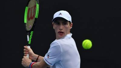 Tennis: exploit d'Ugo Humbert contre Borna  Coric à Marseille