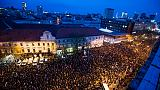 Slovaquie: grandes manifestations pour l'anniversaire de l'assassinat d'un journaliste