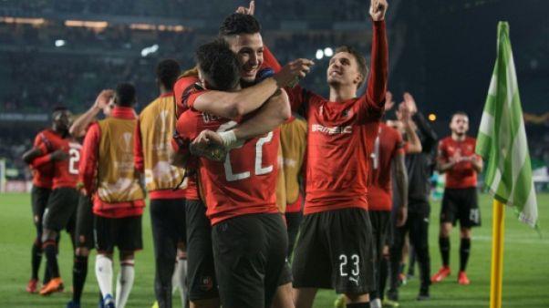 Ligue Europa: Rennes règne contre le Betis et rejoint les huitièmes