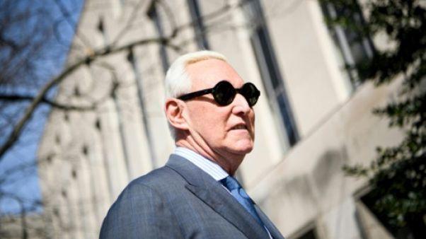 Stone, un fidèle de Trump inculpé dans l'affaire russe, interdit de communiquer