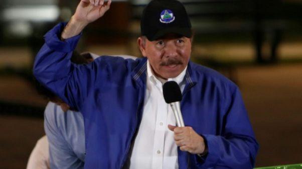 Le président du Nicaragua Daniel Ortega à Managua, le 29 novembre 2018