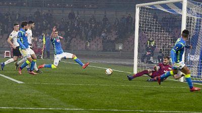 Europa League, ottavi Napoli-Salisburgo
