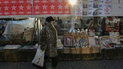 Divisée entre Russie et UE, la Moldavie élit ses députés