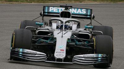 F1: Bottas, mio obiettivo è il Mondiale