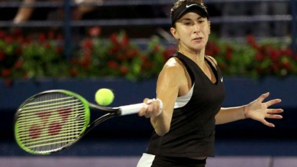 Tennis: Bencic rejoint Kvitová en finale à Dubaï