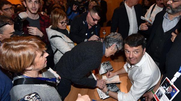 Renzi, non molliamo, non siamo finiti