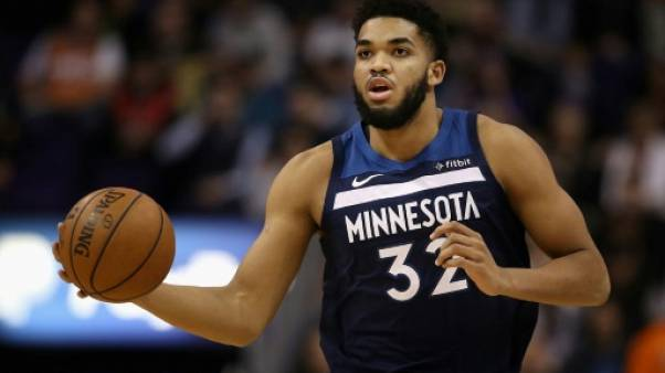 NBA: Karl-Anthony Towns impliqué dans un accident de la route