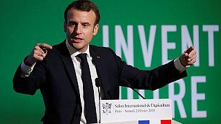 EU farming 'under threat' and needs big budget, says Macron