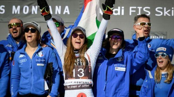 Ski alpin: au mileu d'un imbroglio technique, revoilà Sofia Goggia!