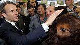 مزارعو فرنسا يرحبون بماكرون مع دعوته الاتحاد الأوروبي للإبقاء على ميزانية كبيرة