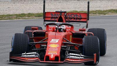 F1: ultimi test, Ferrari sempre in pista