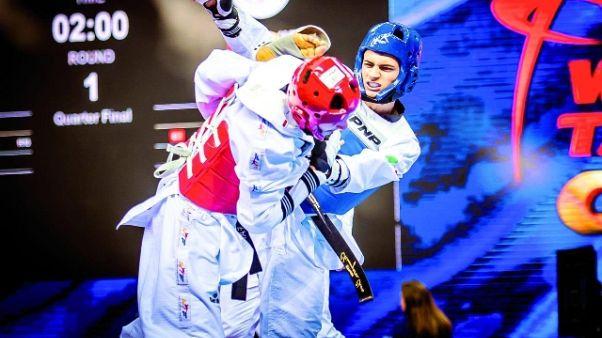 Taekwondo:Egypt Open,2 bronzi per Italia
