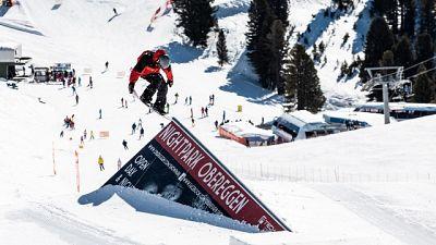 Snowboard italiano fa tappa a Obereggen