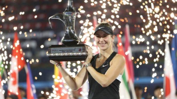 La Suissesse Belinda Bencic remporte le tournoi de Dubaï le 23 février 2019