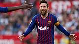 Espagne: Messi signe un triplé, le Barça renversant à Séville 4-2