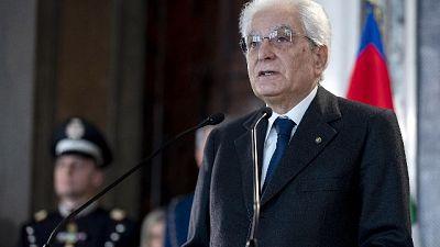 Eroi Mattarella:Bungaro,io no all'estero