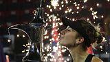 بنتشيتش غير المصنفة تهزم كفيتوفا وتنال لقب بطولة دبي للتنس