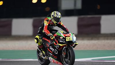 Moto:Qatar,primo test per nuova Aprilia