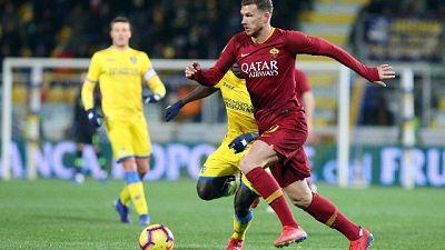 Serie A: Frosinone-Roma 2-3